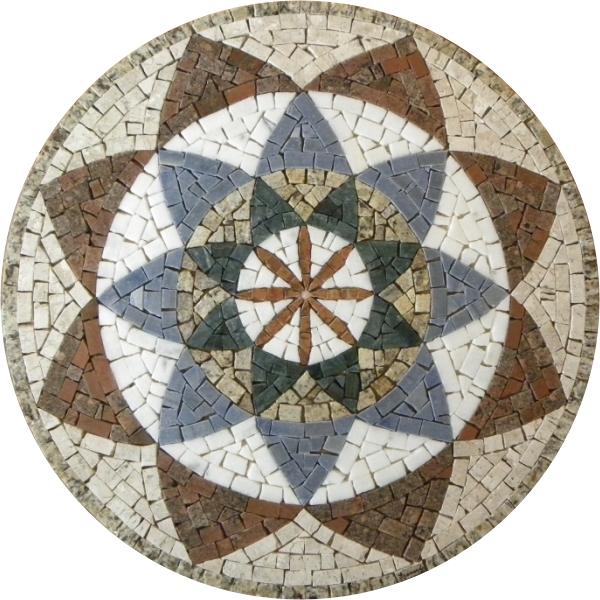 mosaico mandala mosaico
