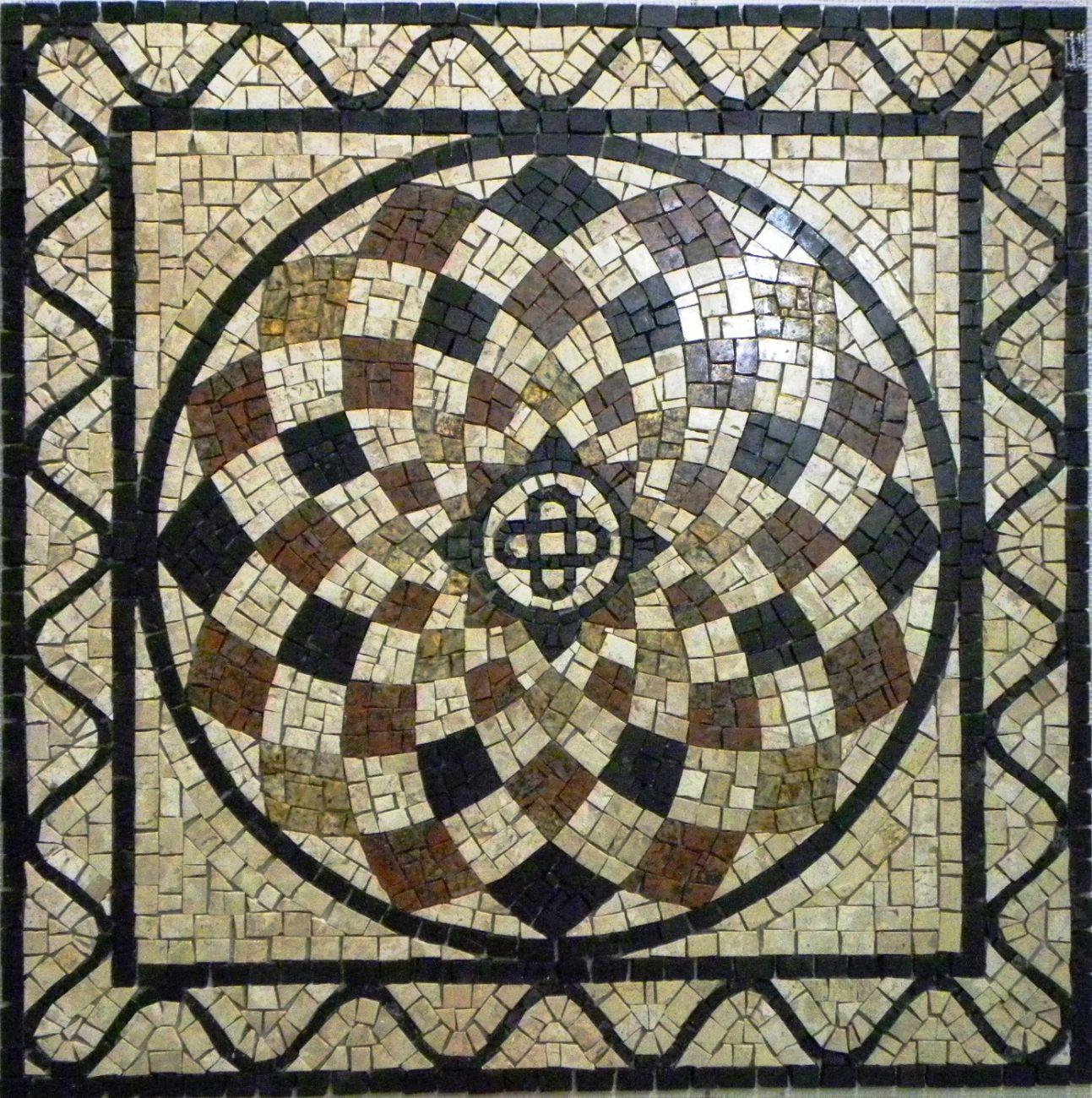 Mosaico mandalas em mosaico for Mosaico para piso