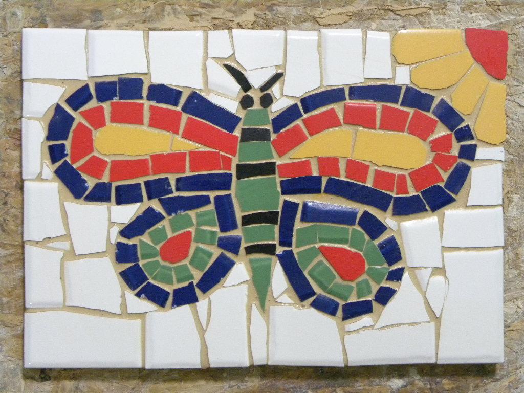 Curso de mosaico com azulejos cer mica e porcelana 3 for Mosaico ceramica